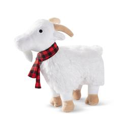 Goat With Scarf Dog Toy
