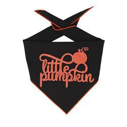 Halloween Bandana | Halloween Dog Bandana | Little Pumpkin |