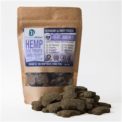 CannaBrinaHemp Dog Treats for Heart & Immune Care - 150mg Hemp Oil Extract
