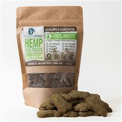 CannaBrinaHemp Dog Treats for Stress & Anxiety Relief - 150mg Hemp Oil Extract