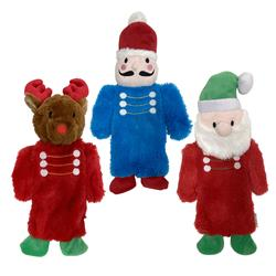 "fouFIT™ Nutcracker Stuffless Crinkle Toys (13"") - Case of 3"