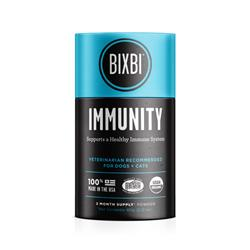 BIXBI® Immunity Pet Superfood Daily Mushroom Powder Supplement for Dogs & Cats, 60 grams
