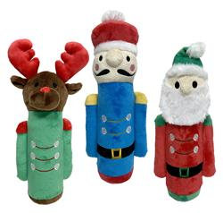"fouFIT™ Nutcracker Plush Cruncher Toys (13"") - Case of 3"