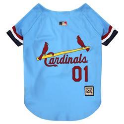 St. Louis Cardinals Dog Jersey - Throwback