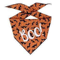 Halloween Bandana | Halloween Dog Bandana, Black Bats  |