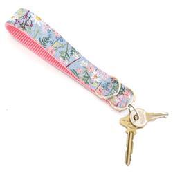 Daisy Blue Rifle Paper Co Wristlet Key Fob