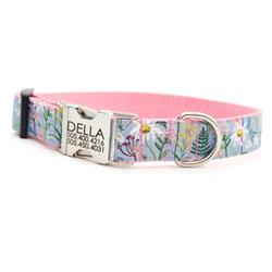 Blue Daisy Floral Voile Dog Collar - Rifle Paper Co