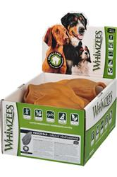 Whimzees Veggie Ear Daily Dental Chews, 18 Count POP Box