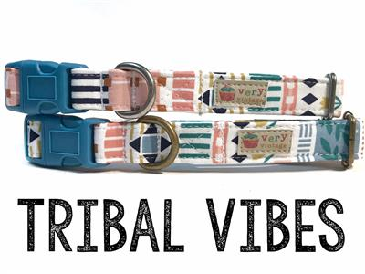 Tribal Vibes – Organic Cotton Collars & Leashes