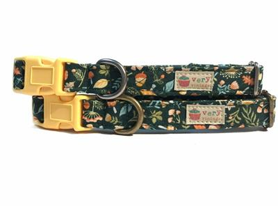 Forest Floor – Organic Cotton Collars & Leashes