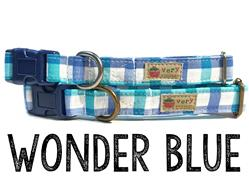 Wonder Blue – Organic Cotton Collars & Leashes