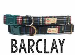 Barclay – Organic Cotton Collars & Leashes