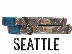 Seattle – Organic Cotton Collars & Leashes