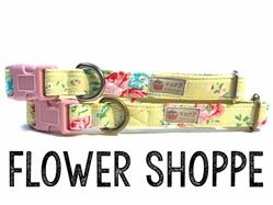 Flower Shoppe – Organic Cotton Collars & Leashes