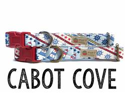 Cabot Cove – Organic Cotton Collars & Leashes