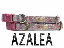 Azalea – Organic Cotton Collars & Leashes