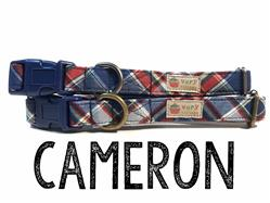 Cameron – Organic Cotton Collars & Leashes