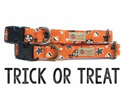 Trick or Treat – Organic Cotton Collars & Leashes