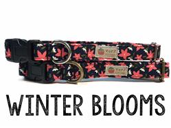Winter Blooms – Organic Cotton Collars & Leashes