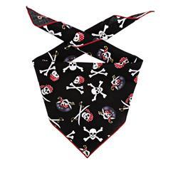 Halloween Bandana | Halloween Dog Bandana Jolly Roger Skull  |  BUY 20 GET 1 FREE