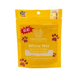 Whine Not - Hemp, Bacon & Cheddar Flavored Food Topper for Dogs, 2.1oz. Bag