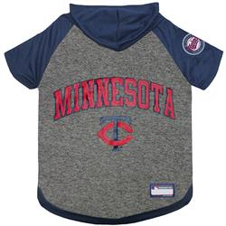 Minnesota Twins Hoody Dog Tee by Pets First