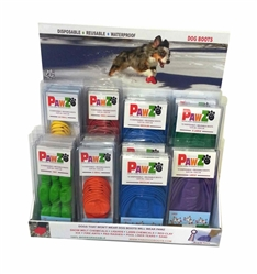 Pawz Countertop  Display - 28 pc. (Color Boots)