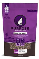 Purpose Freeze-Dried Carnivore Turkey Cat Food, 9 oz