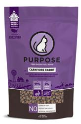 Purpose Freeze-Dried Carnivore Rabbit Cat Food, 9 oz