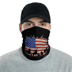 Neck Gaiter: Stand for America