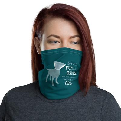 Neck Gaiter: it's All Fun and Games