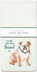 BULLDOG - Tea Towel