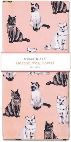 CATS - Tea Towel