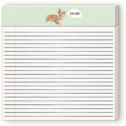 "CORGI - To-Do Wide (8""×8"") Listpad"