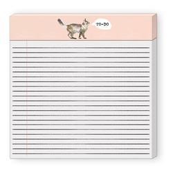 """CAT - To-Do Wide (8""""×8"""") Listpad"""