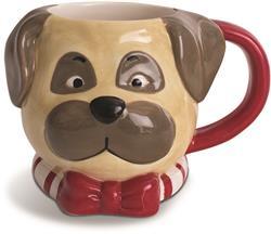 PUG - Holiday Character Mug