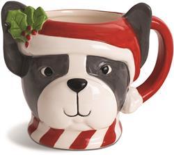 BOSTON TERRIER - Holiday Character Mug