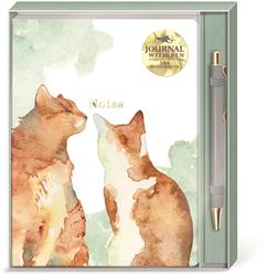 ORANGE CATS - Boxed Journal & Pen Set