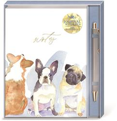 DOG TRIO - Boxed Journal & Pen Set
