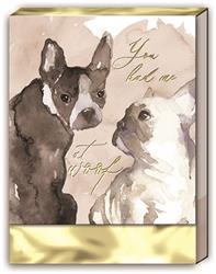 DOG DUO - Pocket Note Pad