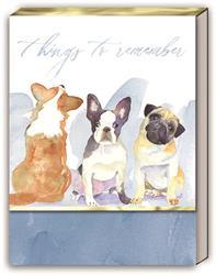 DOG TRIO - Pocket Note Pad