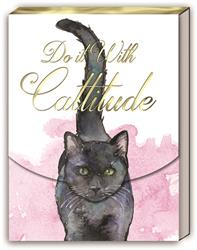 CATTITUDE - Pocket Note Pad