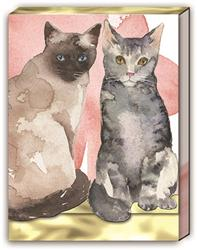 CAT DUO - Pocket Note Pad