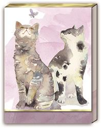 BUTTERFLY CATS - Pocket Note Pad