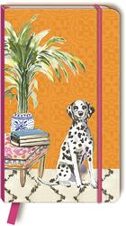 DALMATIAN - Faux Leather Journal w/ bookmark