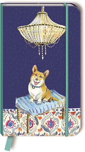 CORGI - Faux Leather Journal w/ bookmark