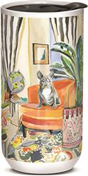 Decorator Frenchie  - Ceramic Travel Mug