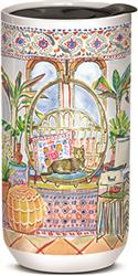 Tabby Bungalow - Ceramic Travel Mug