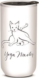 Yoga Master - Ceramic Travel Mug