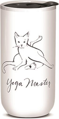 Yoga Master - Ceramic Travel Mug